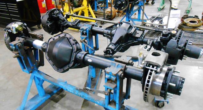 Rebuilt GM Dana 60 Front Axle & GM 14 Bolt Rear Axle