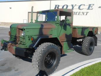 M35A2 Bobbed 2.5 Ton 4x4- Happy Customer- Shipped to California