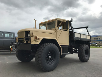 M109A3 Bobbed 2.5 Ton 4x4- Picked Up- Winnemucca, Nevada