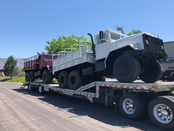 M923A2 900 Series 5 Ton 6x6 (2)- Shipped. Houston, TX