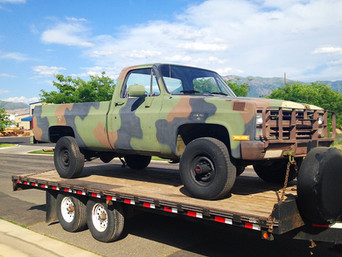 M1008 Chevy Pickup- Shipped to Southern Utah