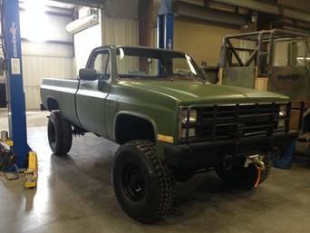M1008 Chevy Pickup- Shipped to New York