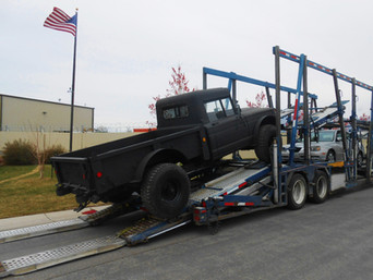 M715 Kaiser Jeep- Shipped