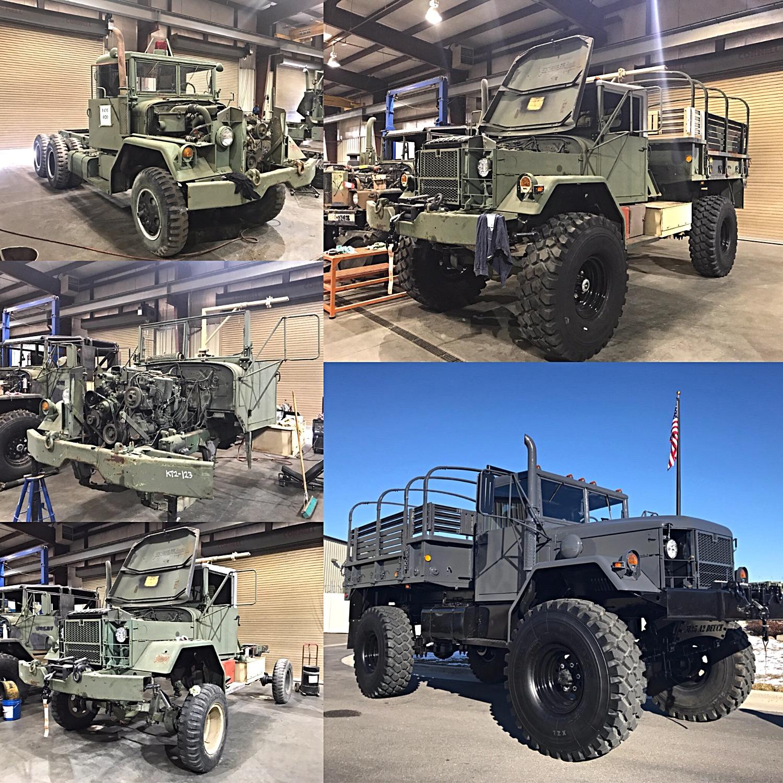 M35A2/M45A2 Bobbed 2 5 Ton 4x4- Shipped to Louisiana
