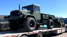 M35A2 Bobbed 2.5 Ton 4x4 w/ M105 Trailer- Shipped to Ontario, Canada
