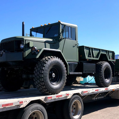 M35A2 Bobbed 2.5 Ton 4x4 w/ M105 Trailer- Shipped to Ontario, Canada