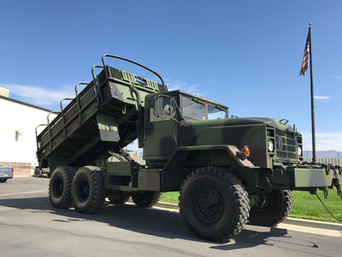 M925A2 900 Series 5 Ton 6x6 w/ Custom Dump Bed- Customer Pickup