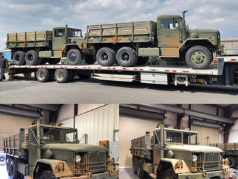 M35A2C 2.5 Ton 6x6 (2)- Shipped to Florida