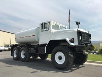 M931A2 900 Series 5 Ton 6x6 Water Truck- Alta Ski Resort, Utah