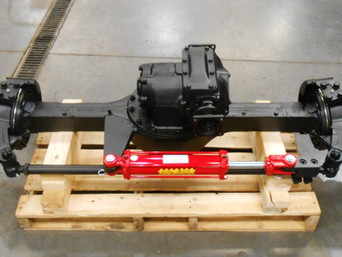 Rebuilt Rockwell 2.5 Ton Front Steering Axle- Shipped