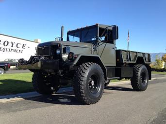 M35A2 Bobbed 2.5 Ton- Shipped to Massachusetts