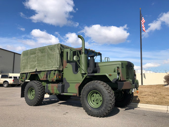 M35A3 Bobbed 2.5 Ton 4x4- Shipped to Sisters, OR