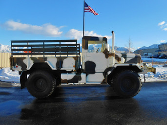 M35A2 Bobbed 2.5 Ton- Shipped to California