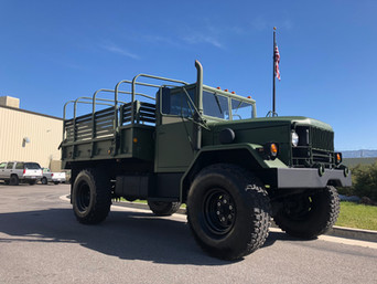 M45A2 Bobbed 2.5 Ton 4x4- Shipped to California