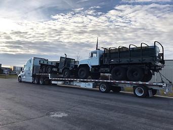 M923A2 & M35A3 Military 6x6 Truck- Shipped Down to Dallas & Houston, TX