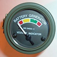 Military Battery Gauge (MS24532-2)
