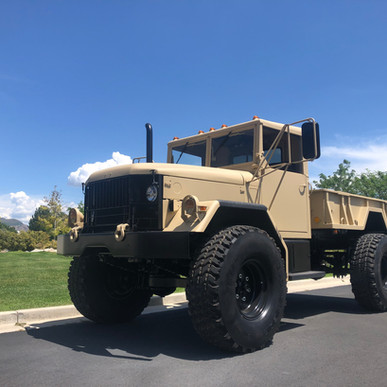 M35A2 Bobbed 2.5 Ton 4x4- Shipped Houston, TX- Shipped to Middle East