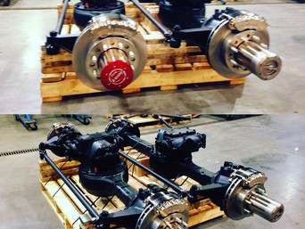 Rebuilt 2.5 Ton Rockwell Axles- Custom