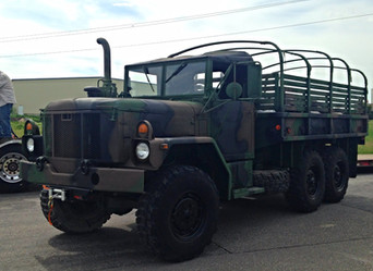 M35A3 6X6 2.5 Ton Truck- Shipped to Delaware
