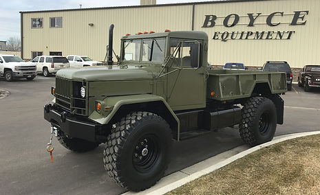 M35A2 2.5 Ton Bobbed Truck