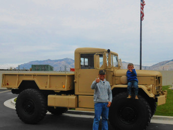 M35A2 Bobbed 2.5 Ton 4x4- Wyoming