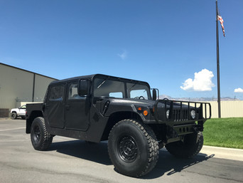 M998 Military Humvee (HMMWV)- Customer Pick-Up- Sparks, Nevada