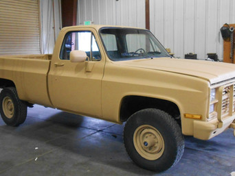M1008 Chevy Pickup- Shipped