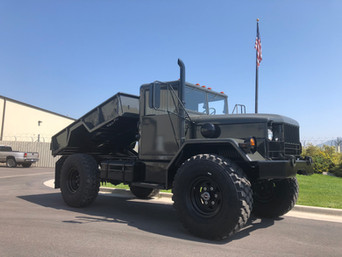 M35A2 Bobbed 2.5 Ton 4x4 w/ Dump Bed- Shipped to Pennsylvania