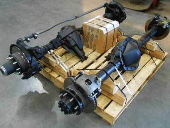 Rebuilt Ford Dana 60 Front Axle & Rebuilt GM 14 Bolt Rear Axle