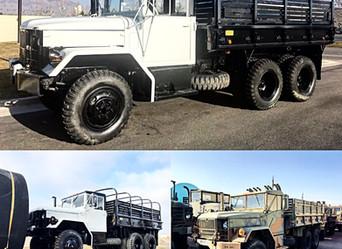 M35A2C 2.5 Ton 6x6- Shipped to California