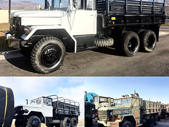 M35A2C 2.5 Ton 6x6- Shipped to California