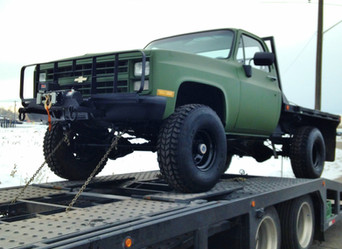 M1008 Chevy Pickup w/ Flat Bed- Shipped