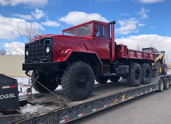 M923A2 900 Series 5 Ton 6x6- Shipped to South Dakota