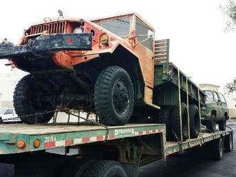 M35A2 2.5 Ton & M1009 Blazer- Shipped