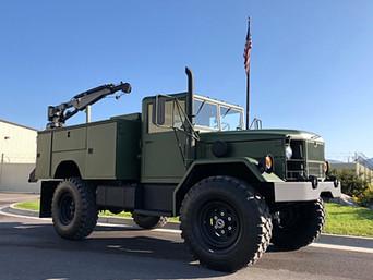 M35A2 Bobbed 2.5 Ton 4x4 w/IMT Crane- Shipped to Colorado