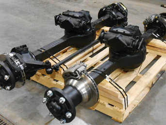 Rebuilt Rockwell 2.5 Ton Front & Rear Axle