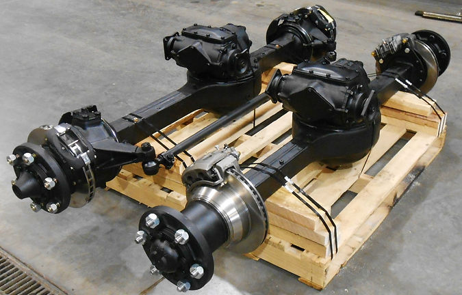 Rebuilt Rockwell 2.5 Ton Front & Rear Axle