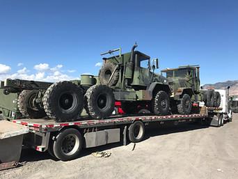 M923A2 900 Series 5 Ton 6x6 (2)- Shipped to Idaho