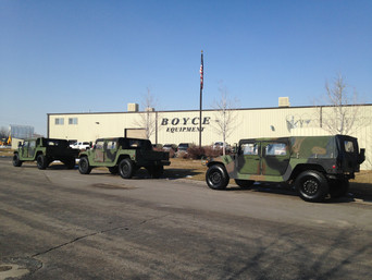M998 Military Humvee's (3)- Picked up