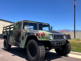 M998 HMMWV Pickup Truck- Shipped- California
