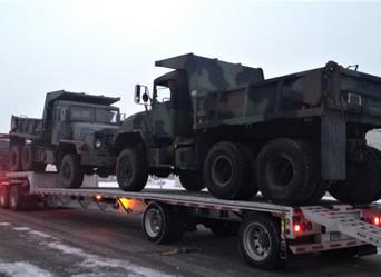 M929A2 900 Series 5 Ton Dump Truck (2)- Shipped to Louisiana