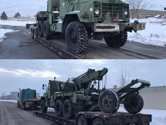 M936A2 900 Series 5 Ton Wrecker- Shipped to Montana