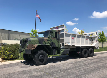 M934A2 900 Series 5 Ton 6x6 Manure Spreader- Local Utah Pickup