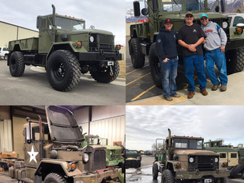 M35A2 Bobbed 2.5 Ton 4x4- Picked Up, Placerville, CA