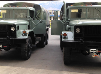 M35A2 2.5 Ton 6x6 (2)- Picked up and driven to Arizona
