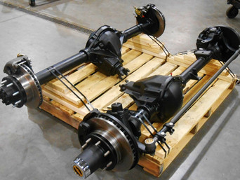 Rebuilt GM Dana 60 Front Axle & Rebuilt GM 14 Bolt Rear Axle- Shipped