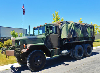 M35A2 w/Winch 6X6 2.5 Ton- Picked-Up