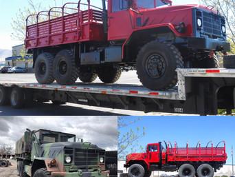 M923A2 900 Series 5 Ton 6x6- Shipped to Texas