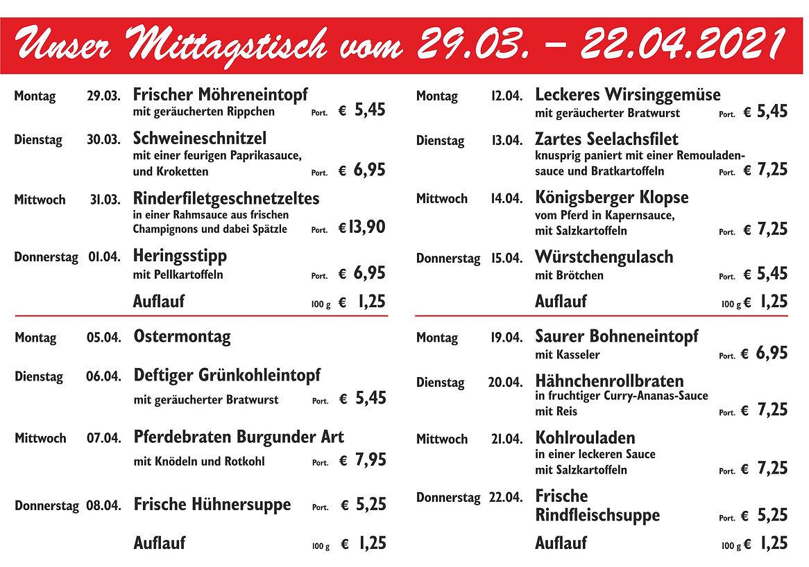 09 - Wochenplan A5 vom 29-03 bis 22-04-2