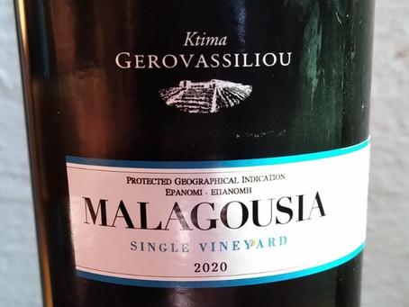Malagousia 2020 vom Ktima Gerovassiliou